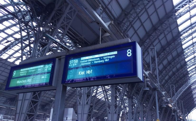 Eine Zugfahrt, die ist lustig…